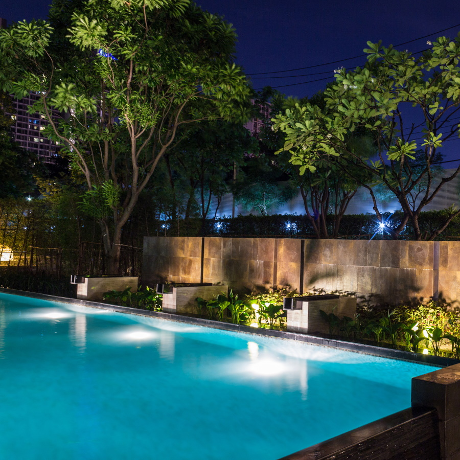We can install outdoor lighting and perform the wiring for pools and hot tubs.